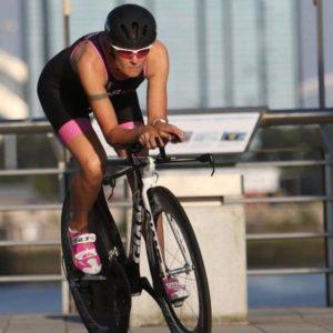Triathlon training bike TT